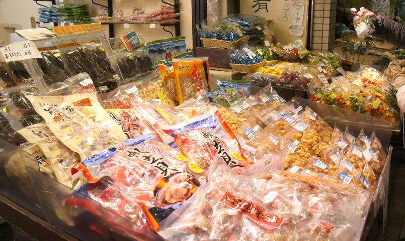 京都の昆虫食「珍味の喜久屋」